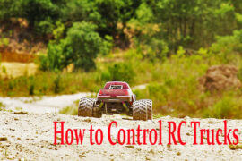 how to control RC trucks