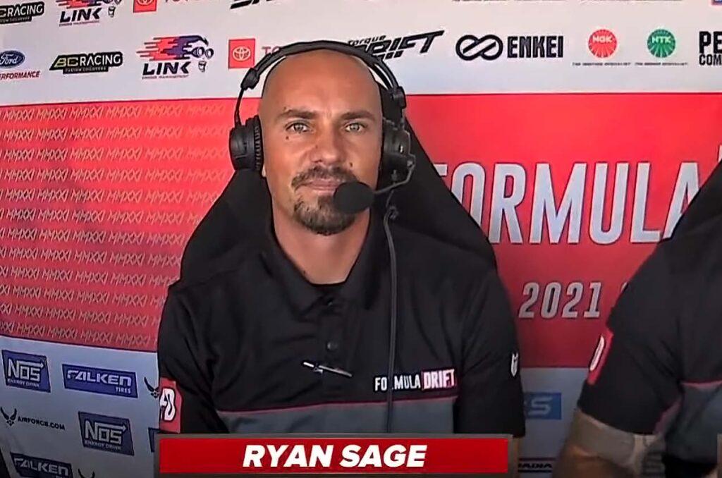 Ryan Sage co-founder of Formula Drift