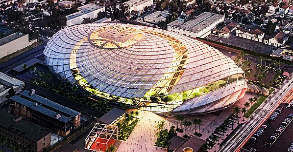 Intuit Dome to be built in Inglewood, CA. Future home of the LA Clippers.