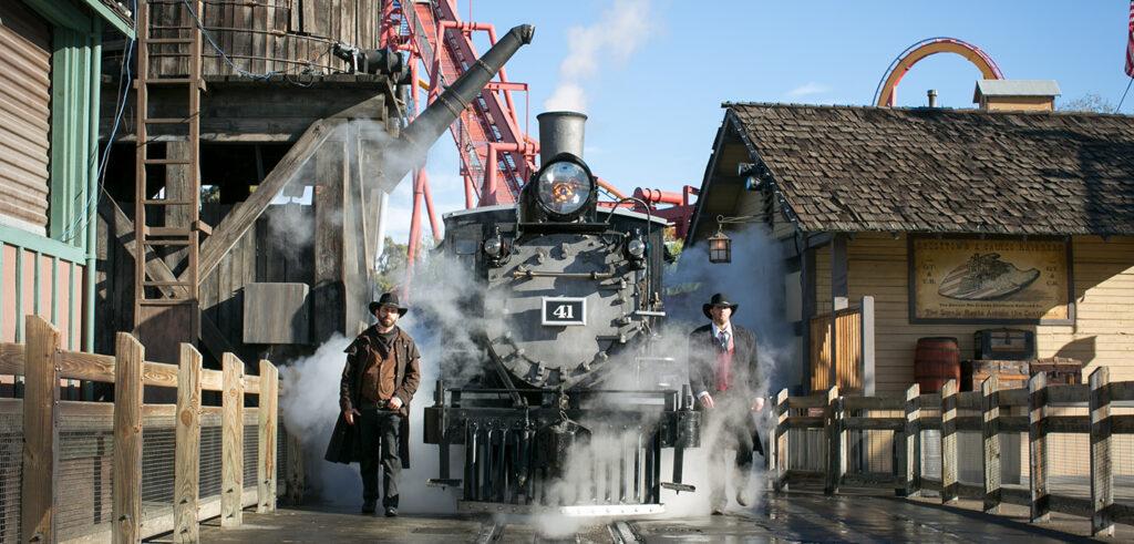 Authentic Denver and the Rio Grande Narrow Gauge train
