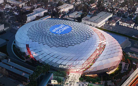 Intuit Dome is being built